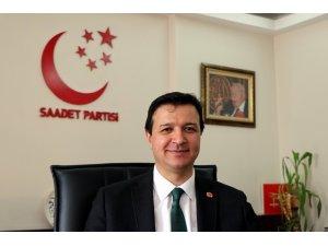 """Arıkan: """"Saadet Partisi oylarını yüzde 100 artıran tek partidir"""""""