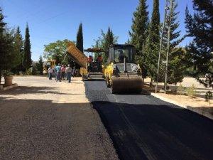 Narlıkuyu bölgesinde asfalt çalışması yapıldı
