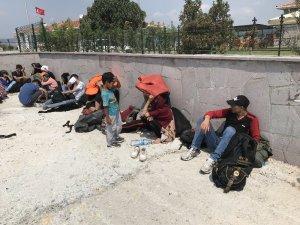 Çanakkale'de 101 mülteci yakalandı