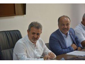 AYESOB şoför esnafının sorunlarını Komisyon Başkanvekili Yavuz'a iletti