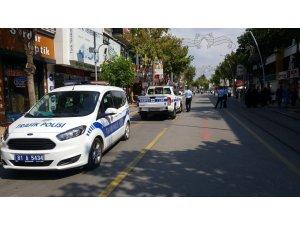 İstanbul Caddesinde motosiklet uygulaması