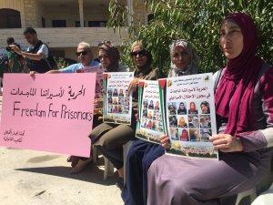Filistinliler, mahkum kadınların serbest bırakılmasını istiyor