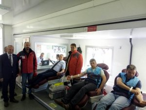 Orta Karadeniz'de bağışlanan kanların yüzde 83'ü erkeklerden