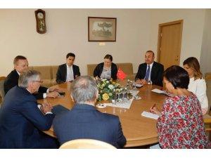 Çavuşoğlu, Litvanya Başbakanı Skvernelis ile görüştü