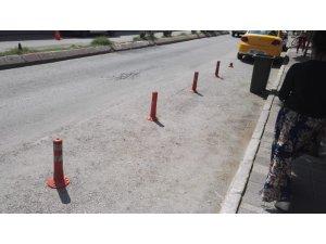 Duba ile usulsüz yol kapatanlara 488 TL para cezası