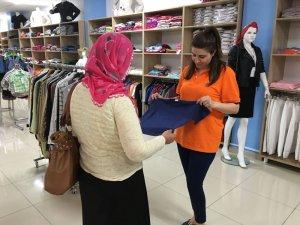 Mardin'de binlerce vatandaşa gıda ve giysi yardımı