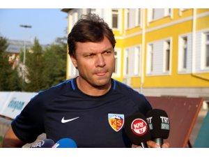 Kayserispor'da Fenerbahçe mesaisi başladı