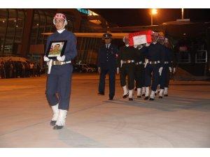 Konyalı Şehit Karağlı'nın cenazesi memleketine getirildi