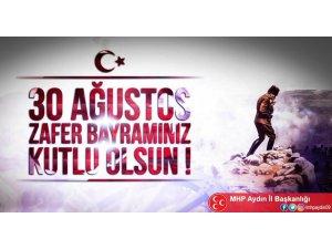 Aydın MHP, 30 Ağustos Zafer Bayramı'nı kutladı