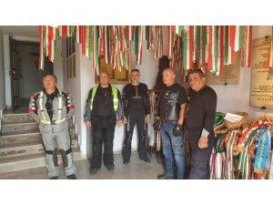 Motor tutkunu Macar grup atalarının evini görmek için Tekirdağ'da