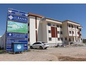 200 kişilik kız yurdu inşasında sona gelindi