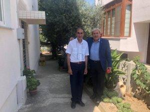 Başkan Şahin ressam Öztürk'ü ziyaret etti