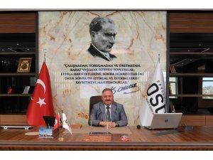 Kayseri Osb Yönetim Kurulu Başkanı Tahir Nursaçan'ın 30 Ağustos Zafer Bayramı Mesajı