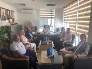 Belediye Başkanı Şahin'den Vekil Yağcı'ya ziyaret