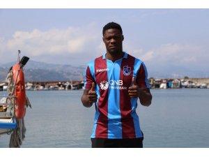 Trabzonspor, Calep Ekuban ile sözleşme imzaladı