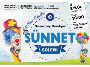 Dursunbey'de 41 Çocuk Belediyenin Şöleninde Sünnet Olacak