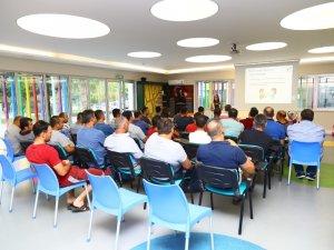 Manavgat belediyesi personeline iş hayatı ve iletişim semineri