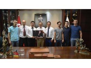 Uzmanlar Federasyonu'ndan Ataç'a ziyaret