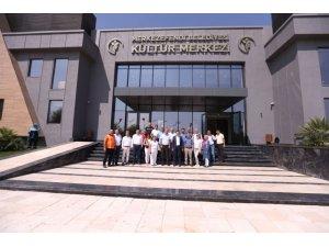 1 Eylül'de açılacak Kültür Merkezi ve nikah salonu tanıtıldı