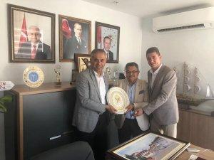 Başkan Yaman, Vekil Yağcı'yla bir araya geldi