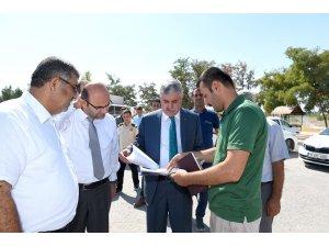 Atabey İskelesi'ne modern mesire alanı yapılıyor