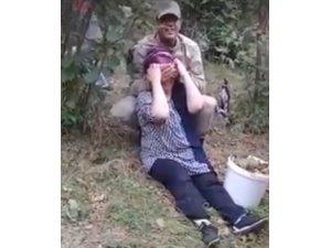 Askerden annesine duygulu sürpriz