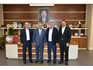 Başkan Toçoğlu Ankara'da ziyaretler gerçekleştirdi