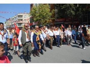 Şehzade Korkut şenlikleri kapsamında Yörük Göçü düzenlendi