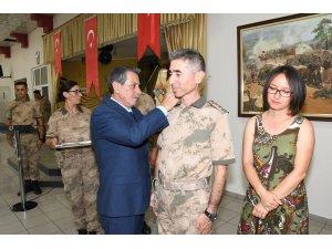Jandarmada rütbe terfi töreni düzenlendi