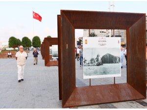 Taksim Meydanı'nda 30 Ağustos Zafer Bayramı sergisine büyük ilgi