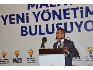 AK Parti Malatya yeni il yönetimi tanıtıldı