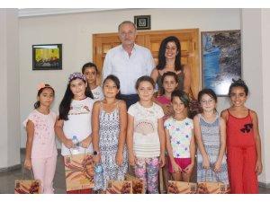 Öğrencilerden Başkan Atabay'a anlamlı ziyaret