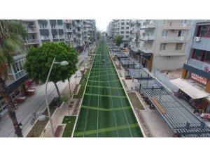 Müze konseptiyle yenilenen Ali Çetinkaya Caddesi açılışa hazır