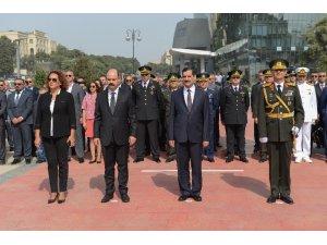 30 Ağustos Zafer Bayramı 96. yılında Azerbaycan'da kutlandı