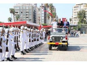 30 Ağustos Zafer Bayramı Mersin'de coşkuyla kutlandı