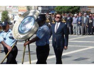 Erciş'te 30 Ağustos Zafer Bayramı kutlandı