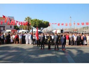 Bodrum'da 30 Ağustos Zafer Bayramı kutlaması
