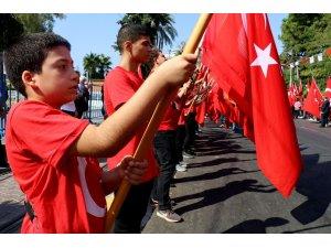 30 Ağustos Zafer Bayramı Antalya'da coşkuyla kutlandı