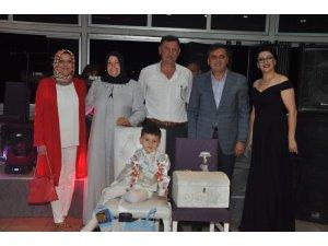 Başkanlar sünnet törenine katıldı