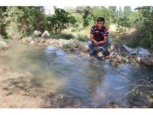 İHA'nın haberi ses getirdi, köylüler suyuna kavuştu
