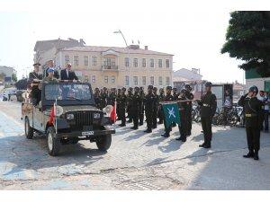 Komandolar şehir merkezini inletti