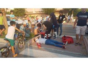 Antalya'da trafik kazası: 3 yaralı