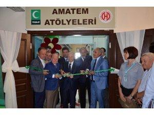 AMATEM'de tedavi gören hastalar için kurs açıldı