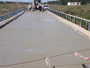 Yulaflı Mahallesi'ndeki köprü modernize edildi