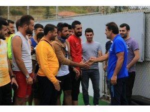 Pasur Belediyespor Trabzonspor'a başarı diledi