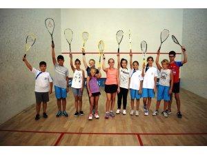 Nilüfer'de 3 gün boyunca squash heyecanı yaşanacak