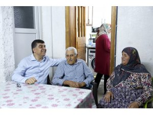 Belediye Başkanı Fadıloğlu, Kömek ile Öztürk ailelerin konuğu oldu