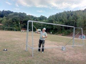 Çubuklu Spor Sahasına bakım