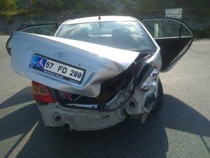 Alaçam'da kaza: 1 yaralı