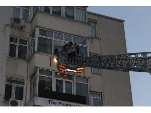 Şişli Emekli Subay Evleri'nde korkutan yangın